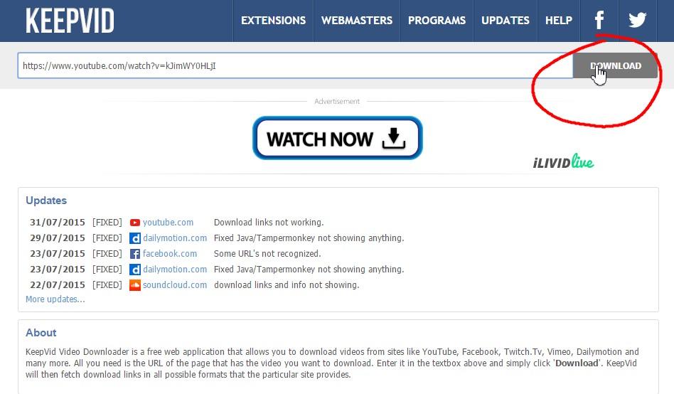 Κατεβάστε βίντεο από το YouTube! - Φωτογραφία 2