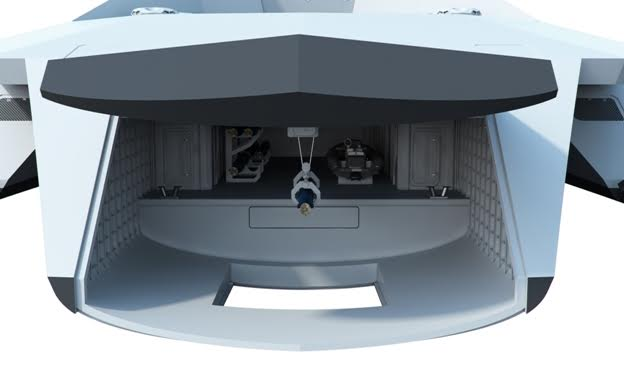 Dreadnought 2050: Βρετανικό θωρηκτό που κόβει την ανάσα [video] - Φωτογραφία 7