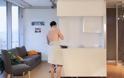 Αυτό είναι το διαμέρισμα του μέλλοντος – Πώς θα χωρέσουν πέντε ευρύχωρα δωμάτια μέσα σε 18 τ.μ! [video]