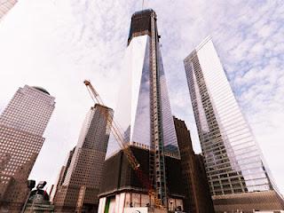 O Πύργος της ελευθερίας στήνεται στον τόπο μαρτυρίου της Νέας Υόρκης - Φωτογραφία 1
