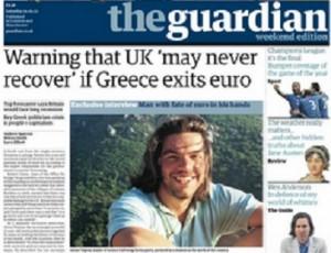 Τσίπρας στον Guardian: Η πρώτη μου δουλειά να σκίσω το μνημόνιο! - Φωτογραφία 1