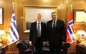Συνάντηση ΥΕΘΑ Πάνου Καμμένου με τον Πρέσβη της Νορβηγίας Jorn Gjelstad