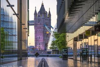 Εκπληκτικές εικόνες από το άδειο Λονδίνο την αυγή!