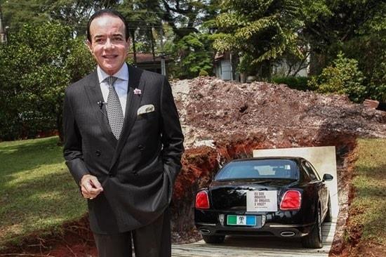 Απίστευτος τύπος! Εκατομμυριούχος έθαψε την πανάκριβη Bentley του στέλνοντας συγκλονιστικό μήνυμα! [photos] - Φωτογραφία 2