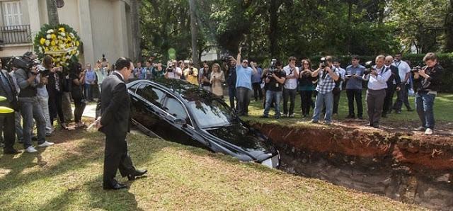 Απίστευτος τύπος! Εκατομμυριούχος έθαψε την πανάκριβη Bentley του στέλνοντας συγκλονιστικό μήνυμα! [photos] - Φωτογραφία 3