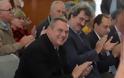 Παρουσία ΥΕΘΑ Πάνου Καμμένου στην τελετή υπογραφής μνημονίου συνεργασίας για τη λειτουργία βάσεων υποστήριξης αεροδιακομιδών του ΕΚΑΒ στη Σύρο και τη Λέσβο
