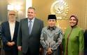 Συνάντηση ΥΕΘΑ Πάνου Καμμένου με τον Αντιπρόεδρο της Ινδονησίας Muhammad Jusuf Kalla και τον Πρόεδρο της Βουλής Ade Komarudin