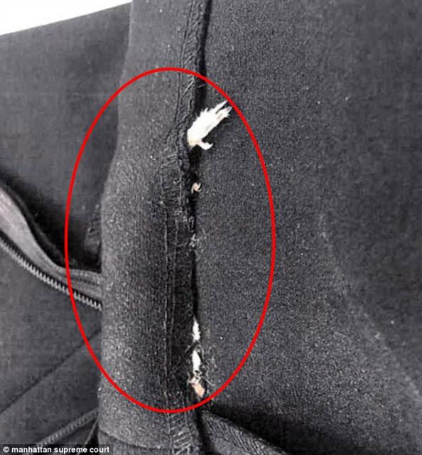 ΑΗΔΙΑ: Βρήκε ένα... ΨΟΦΙΟ  τρωκτικό στο στρίφωμα φορέματος που αγόρασε από το Zara - Δείτε τις ΑΠΙΣΤΕΥΤΕΣ εικόνες - Φωτογραφία 3