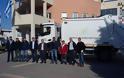 Ήρθε το πρώτο από τα δυο νέα απορριμματοφόρα στον Δήμο Μαλεβιζίου