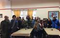 Το στρατόπεδο Αγκαρυώνων και τη ΛΑΦ Μύρινας γνώρισαν οι μαθητές του ΕΕΕΕΚ Λήμνου