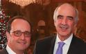 Ο Μεϊμαράκης μίλησε σε άπταιστα γαλλικά για τα εθνικά μας θέματα με τον Ολάντ
