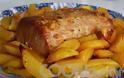 Η συνταγή της Ημέρας: Μπούτι χοιρινό με πορτοκάλι και πατάτες