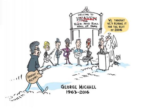 ΑΥΤΟ είναι το ΣΥΓΚΛΟΝΙΣΤΙΚΟ σκίτσο για το ΘΑΝΑΤΟ του George Michael... [photo] - Φωτογραφία 2