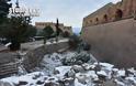 Ναύπλιο: Μαγευτικό το Παλαμήδι χιονισμένο [photos]