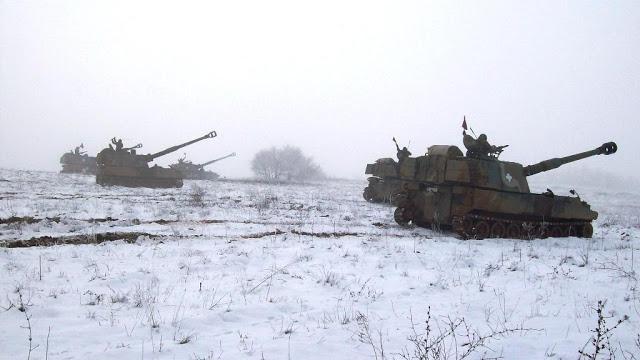 Επιχειρησιακή Εκπαίδευση 50 Μηχανοκίνητης Ταξιαρχίας στον χιονισμένο Έβρο - Φωτογραφία 1
