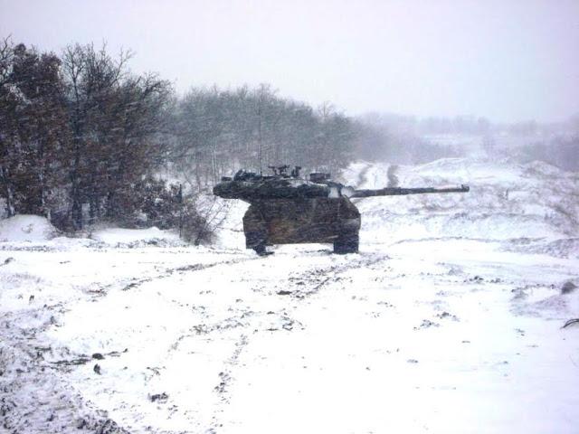 Επιχειρησιακή Εκπαίδευση 50 Μηχανοκίνητης Ταξιαρχίας στον χιονισμένο Έβρο - Φωτογραφία 2