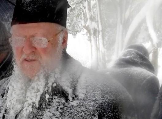 Ο «παγωμένος» Πατριάρχης Βαρθολομαίος... [photos] - Φωτογραφία 1