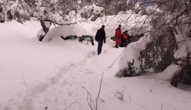 Ο Μπακογιάννης στην Κύμη: «Είχαμε πραγματικά μια βόμβα χιονιού» - Φωτογραφία 1