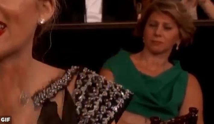 Γιατί αυτή η γυναίκα δεν χειροκρότησε την ομιλία της Meryl Streep; [video] - Φωτογραφία 3