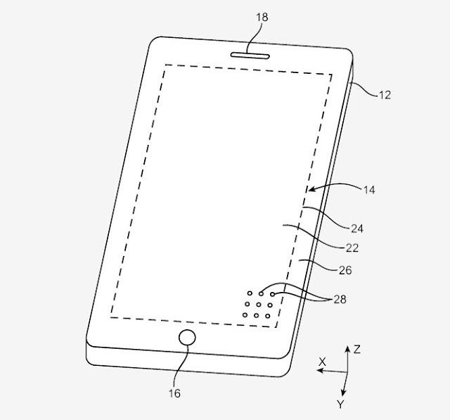 Νέα πατέντα της Apple επιβεβαιώνει την οθόνη από άκρη σε άκρη» στο iPhone 8 - Φωτογραφία 3