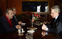 Συνάντηση ΥΕΘΑ Πάνου Καμμένου με τον Πρέσβη των Ηνωμένων Πολιτειών Αμερικής Geoffrey R. Pyatt
