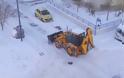 Πως «σώθηκε» η Λάρισα τα ξημερώματα της Δευτέρας από το νέο κύμα χιονιά; Μια «τρύπα» ήταν η αιτία!