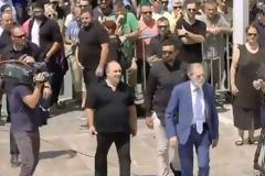 Βαρδινογιάννης, Μελισσανίδης και Μαρινάκης είπαν το τελευταίο «αντίο» στον Παύλο Γιαννακόπουλο [photo+video]