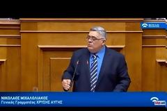 Ν. Γ. Μιχαλολιάκος: Κανένας δρόμος για τις Πρέσπες!
