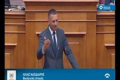 Κασιδιάρης σε συριζαίους: «Δεν είστε Έλληνες! Αφελληνισμένοι κομμουνιστές και συμμορίτες που προδίδουν την Ελλάδα» [Βίντεο]