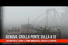 Τραγωδία στη Γένοβα: Στους 38 οι νεκροί από την κατάρρευση της γέφυρας Video