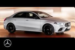 H νέα Mercedes A-Class και σε Sedan