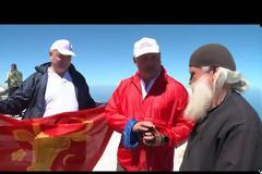 Για πρώτη φορά Αρχηγός Κράτους ανέβηκε στην κορυφή του Άθω! (βίντεο – φωτογραφίες)