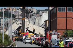Ιταλία: Εθνικό πένθος για την τραγωδία της Γένοβας - Βίντεο