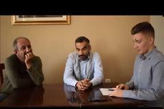 Συνέντευξη στον Βασίλη Τζουβάνο, του Νίκο Χούτα, Ιωάννη Κόκκαλη και Νώντα Νικάκη για την Ιόνια Οδό