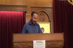 Ο Απόστολος Κρασσάς, διδάσκαλος εκπαιδευτικός, χαιρετίζει την ημερίδα της ΠΕΘ (12.09.2018)