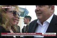 Ο Υπουργός Πάνος Καμμένος στην κάμερα του kalymnos-news.gr για αναδρομικά ενστόλων και για ΣΟΑ
