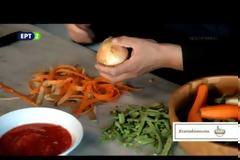 11370 - Μαγειρέματα Αγίου Όρους με τον Γέροντα Επιφάνιο