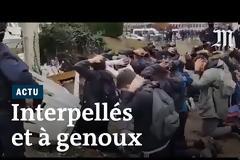 Η αστυνομία έβαλε 12χρονα παιδιά να γονατίσουν σαν αιχμάλωτοι πολέμου – Σάλος στη Γαλλία (Video)