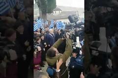Αλβανοί εθνικιστές και αναρχικοί μπαχαλάκηδες αντιδρούν και μόνο στην ακοή του ονόματος του Κατσίφα