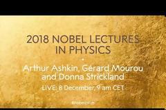 Nobel Φυσικής 2018: Η ομιλία του Gérard Mourou