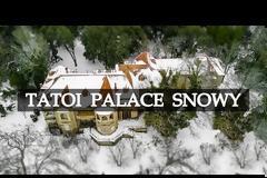 Βίντεο: Μαγευτικά πλάνα από τα χιονισμένα ανάκτορα στο Τατόι
