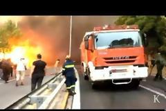 Ντοκουμέντο από τη φωτιά στο Μάτι: Τα ηχητικά της αστυνομίας