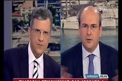 Χατζηδάκης: Η ΔΕΗ δεν έχει χρήματα ...ούτε για να αγοράσει κολώνες (video)