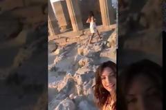 Το κοινό βίντεο Τσιμιτσέλη- Γερονικολού από τις διακοπές στη Ρόδο (video)