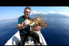 Νέο βίντεο - Το ψαρεμα μας τα ειχε ολα σημερα