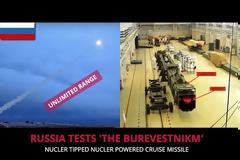 Σχεδόν έτοιμος ο πυρηνικός πύραυλος-φόβητρο των Ρώσων που μπορεί να πετάει για μέρες και έχει απεριόριστη εμβέλεια (vid)