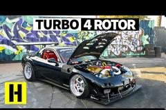 Mazda RX-7  1000 ΗΡ και τρελό ήχο (+video)