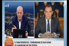 «Bόμβα» Παναγιωτόπουλου: «Ετοιμαζόμαστε για όλα τα ενδεχόμενα με την Τουρκία»