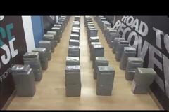 Δηλώσεις σχετικά με εντοπισμό και κατάσχεση 1 τόνου και 181 κιλών κοκαΐνης και τη σύλληψη οχτώ (8) αλλοδαπών