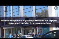 Οδηγίες των τραπεζών λόγω απαγόρευσης της κυκλοφορίας